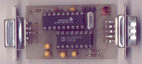 serial mouse interface for commodore