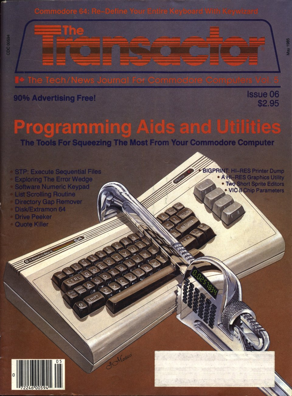 [Cover Page of The Transactor Volume 5, Issue 6: Programming Aids and Utilities]