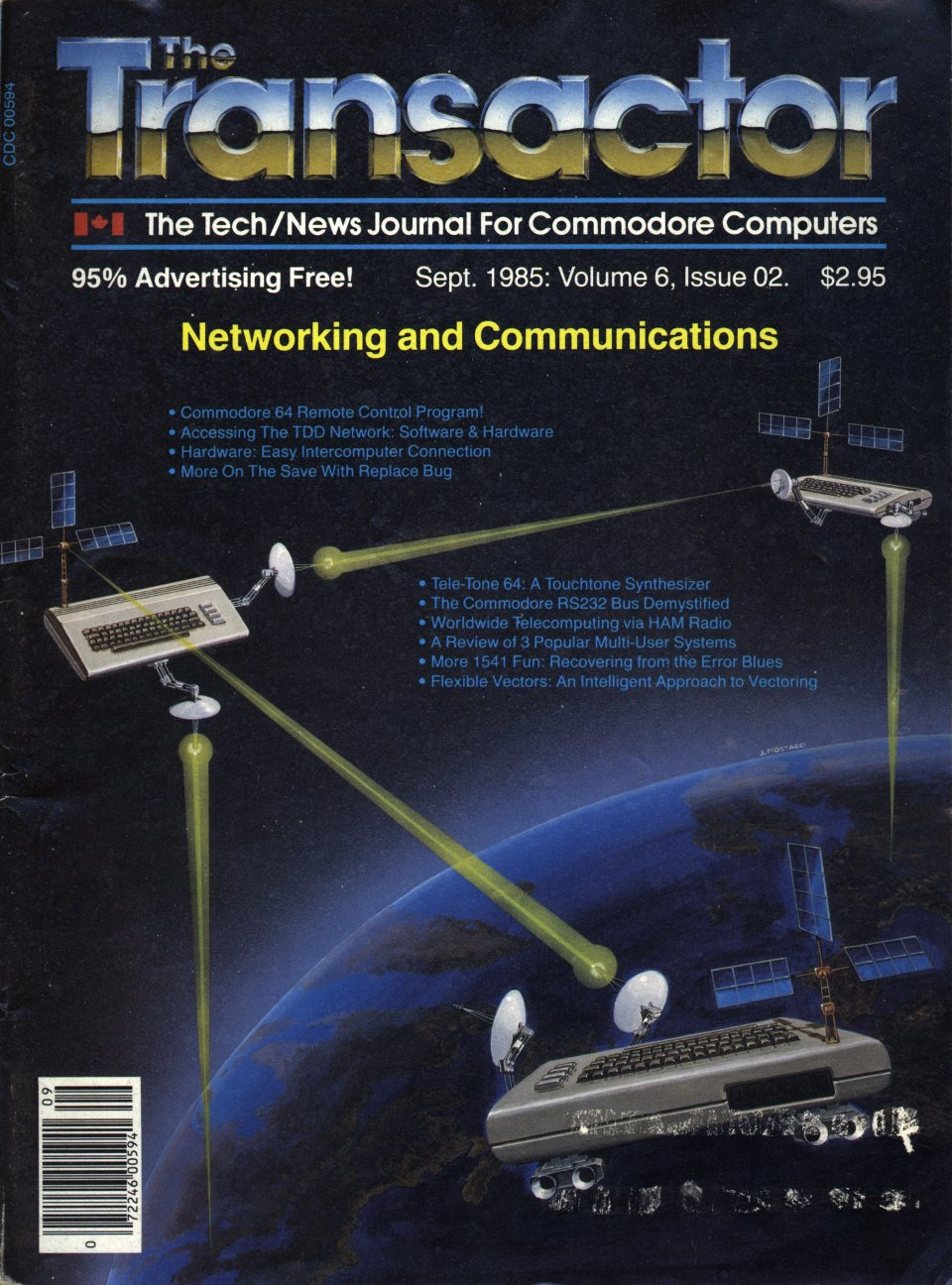 [Cover Page of The Transactor Volume 6, Issue 2: Networking and Communications]