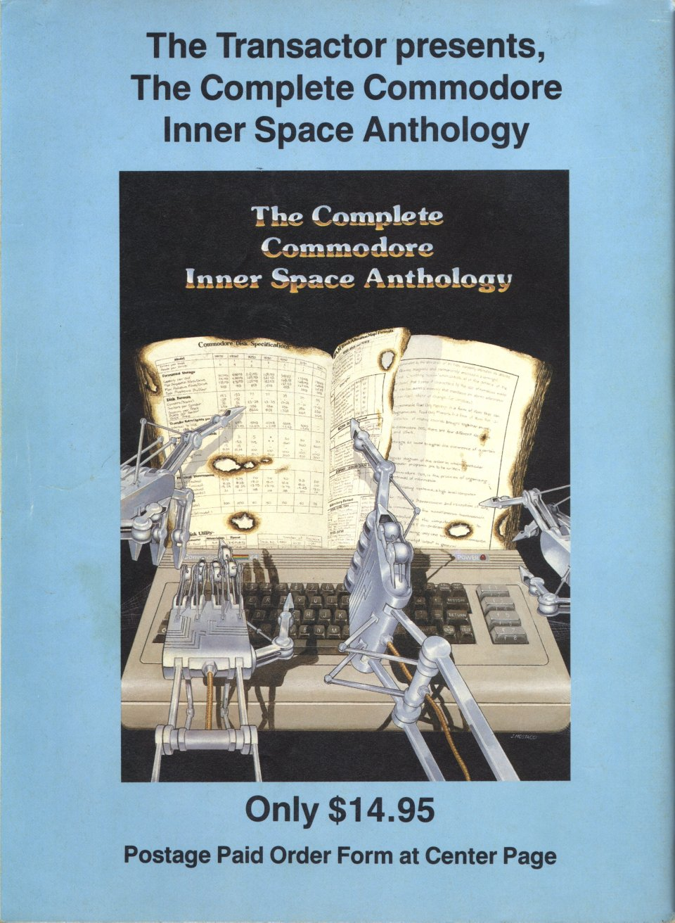 [Advertisement: The Complete Commodore Inner Space Anthology, Only $14.95]