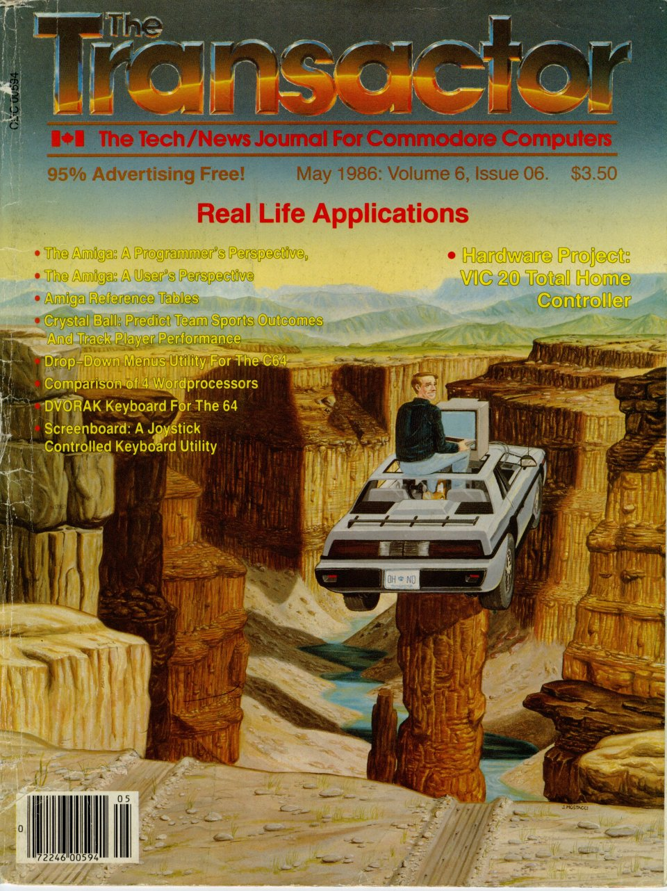 [Cover Page of The Transactor Volume 6, Issue 6: Real Life Applications]