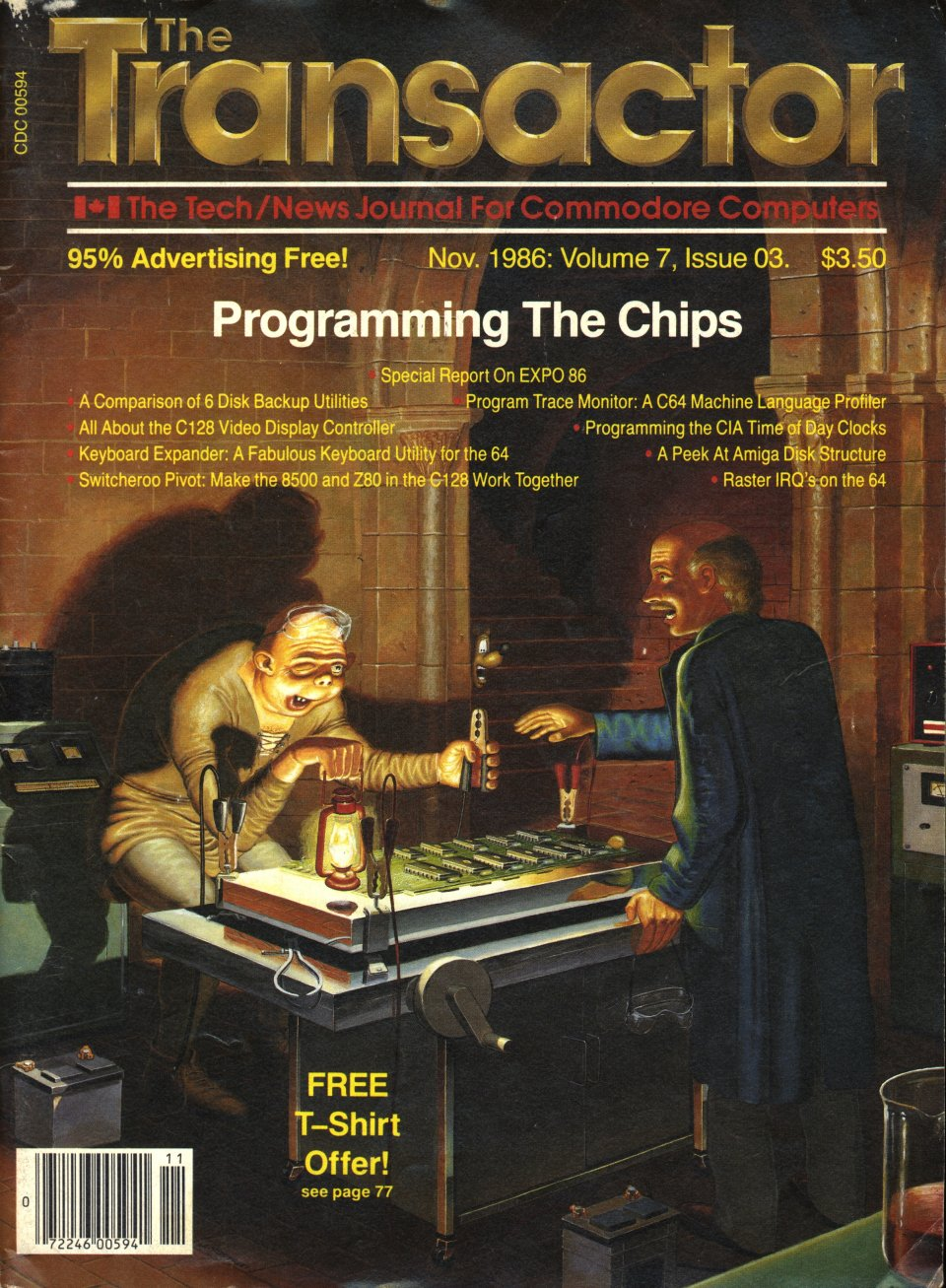 [Cover Page of The Transactor Volume 7, Issue 3: Programming The Chips]