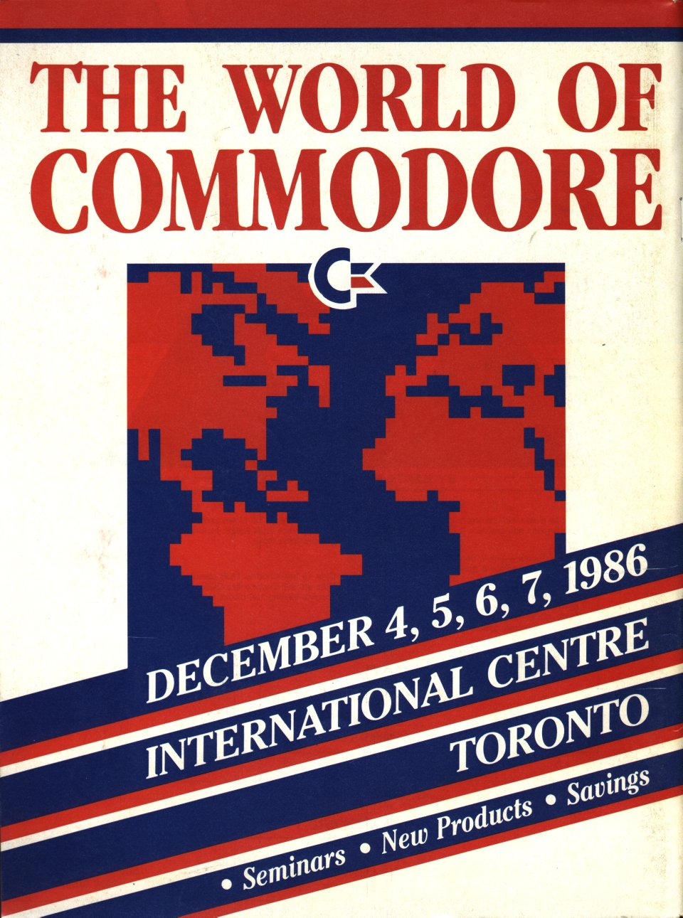 [Advertisement: The World of Commodore, December 4-7, 1986, International Centre, Toronto]