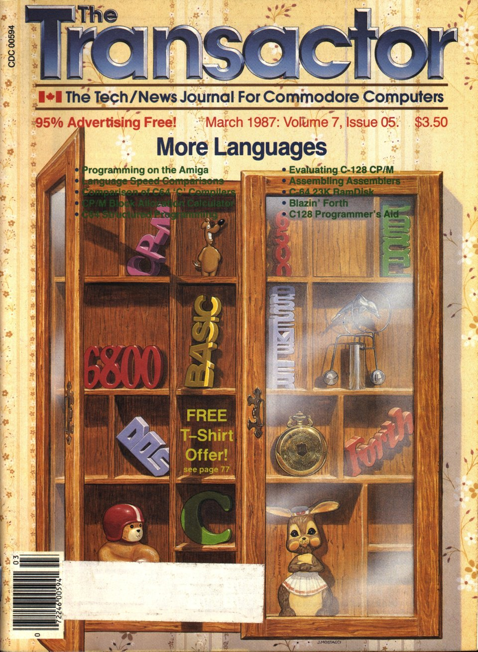 [Cover Page of The Transactor Volume 7, Issue 5: More Languages]