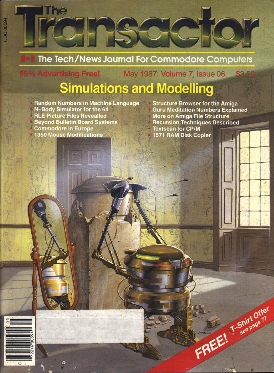 [Cover Page of The Transactor Volume 7, Issue 6: Simulations and Modelling]