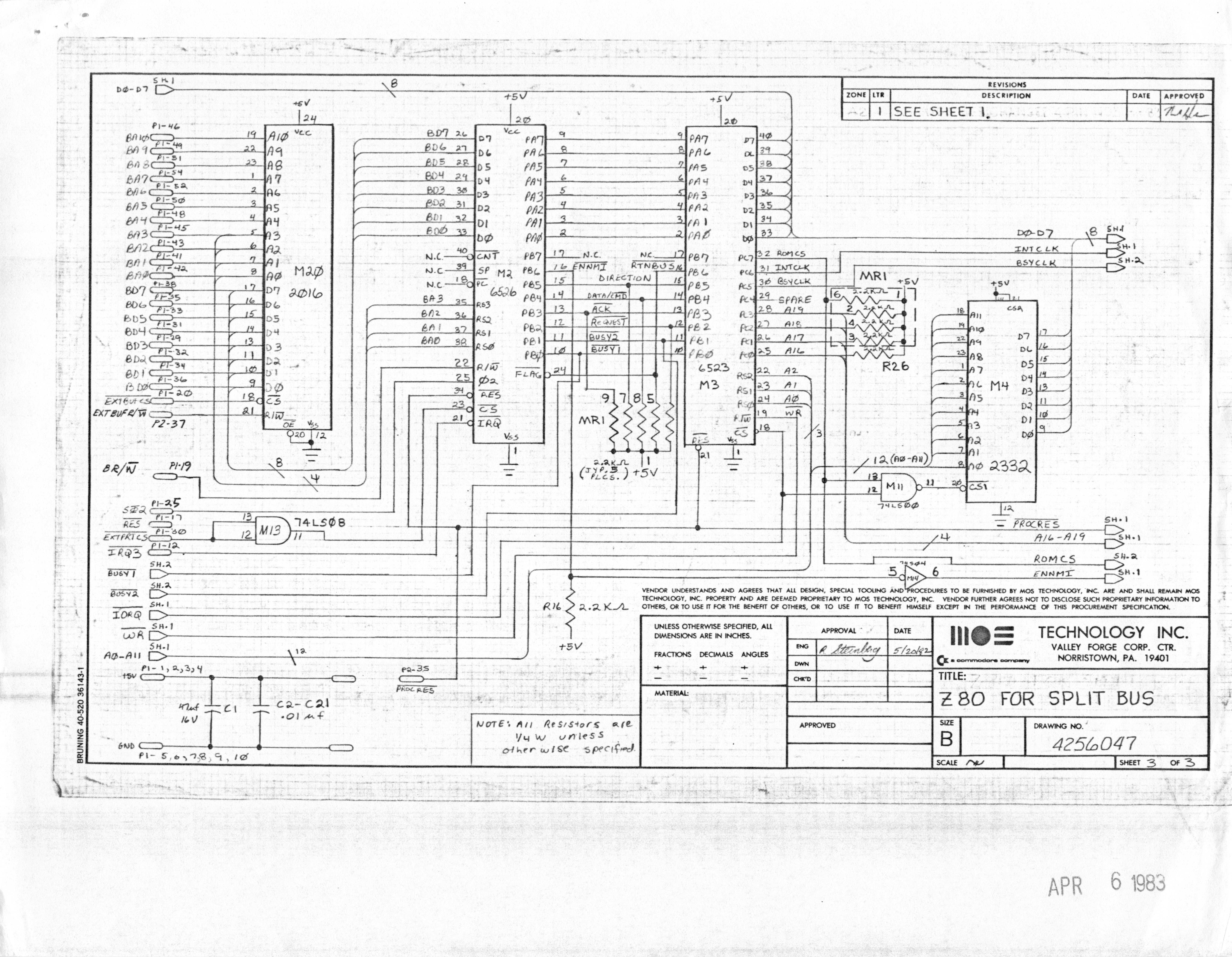 Pub Cbm Schematics Index Circuit Board Diagrams 8088 Co Processor For B Series Machines Reverse Engineered By Ruud Baltissen Http Ruudc64org 8256043 01of14 Leftgif Ii Lp Schematic