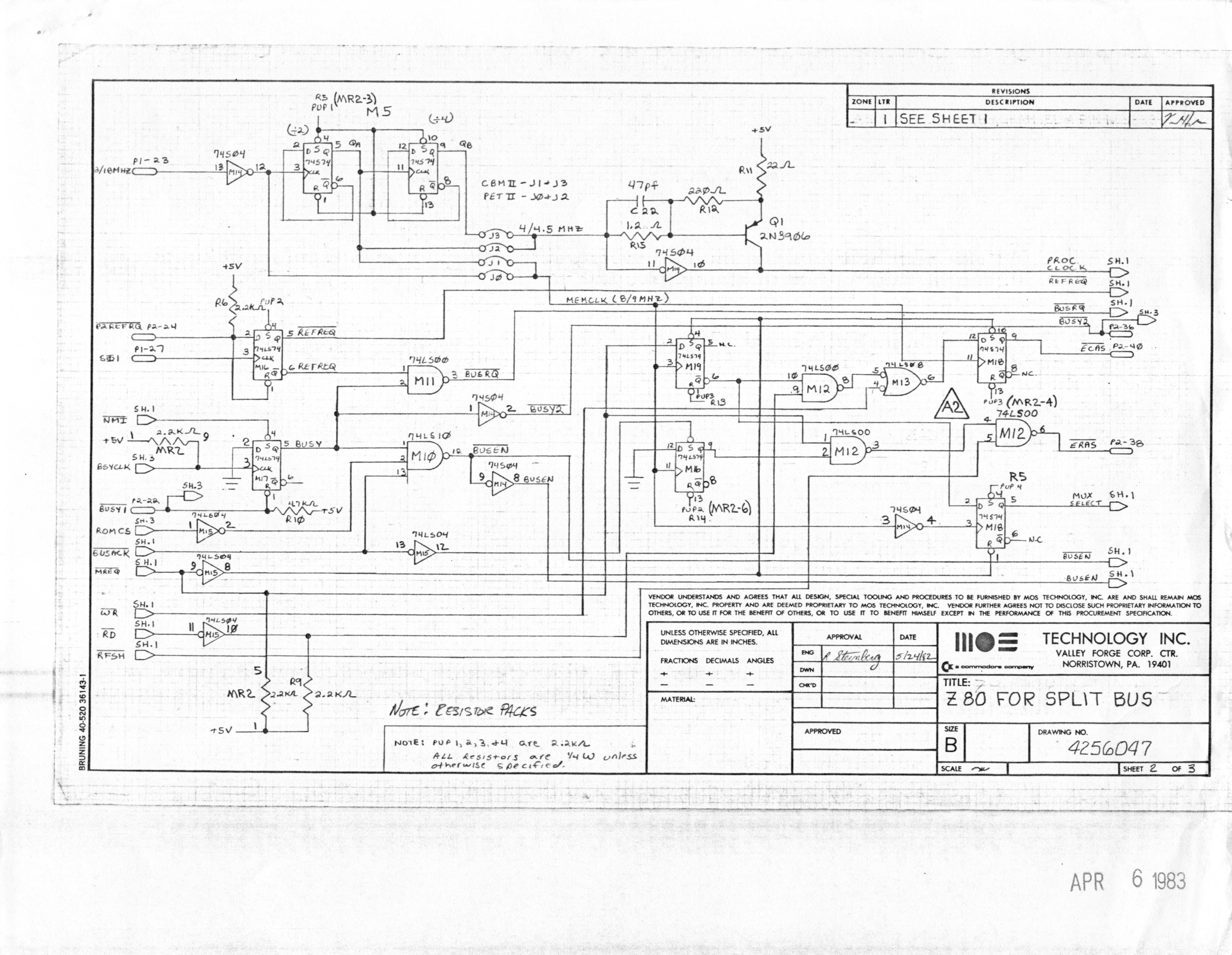 Pub Cbm Schematics Index Circuit Diagram Of A Cpu Co Processor Board For B Series Machines Reverse Engineered By Ruud Baltissen Http Ruudc64org 8256043 01of14 Leftgif Ii Lp Schematic P1