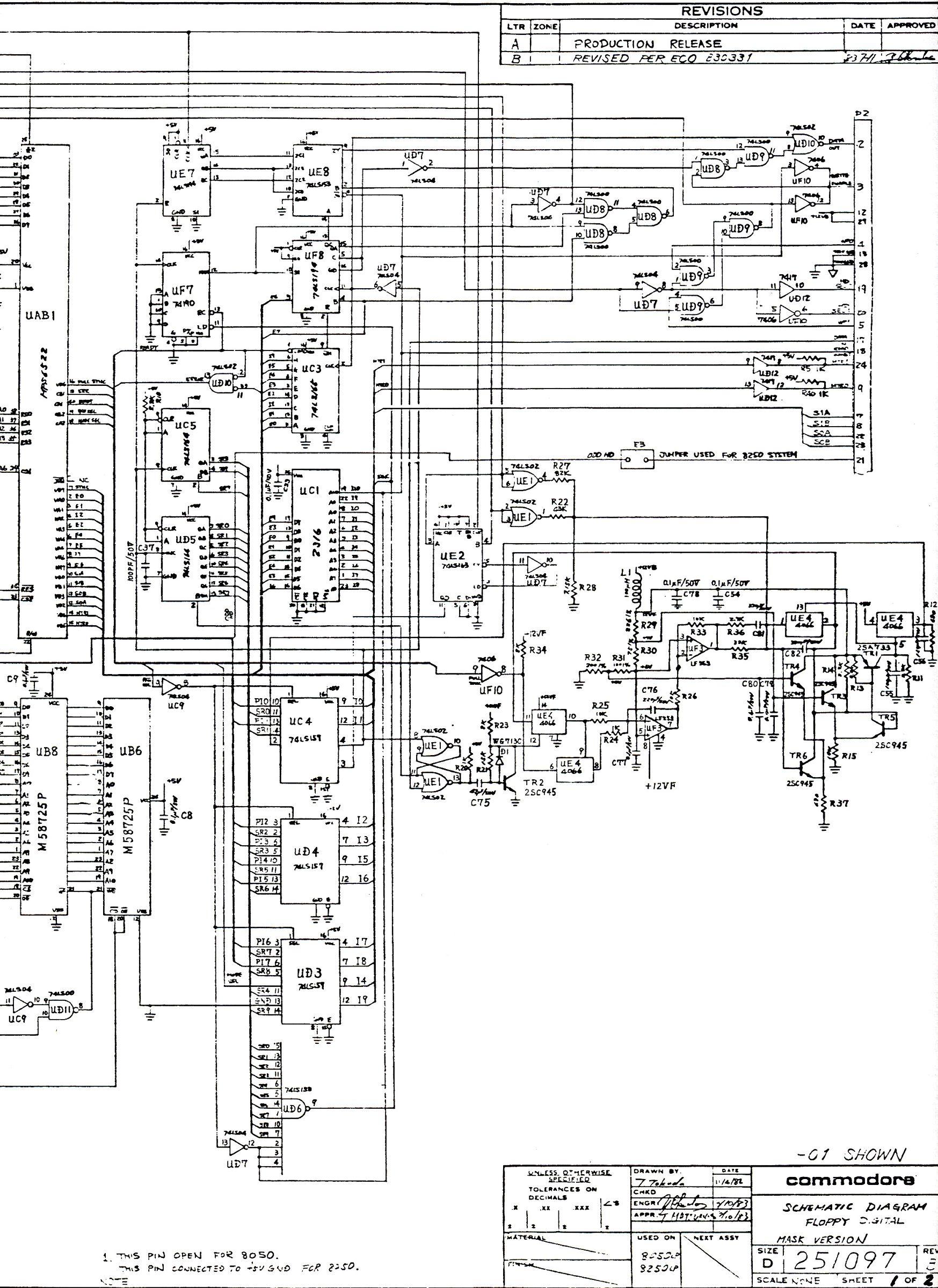 pub  cbm  schematics  drives  old  8050