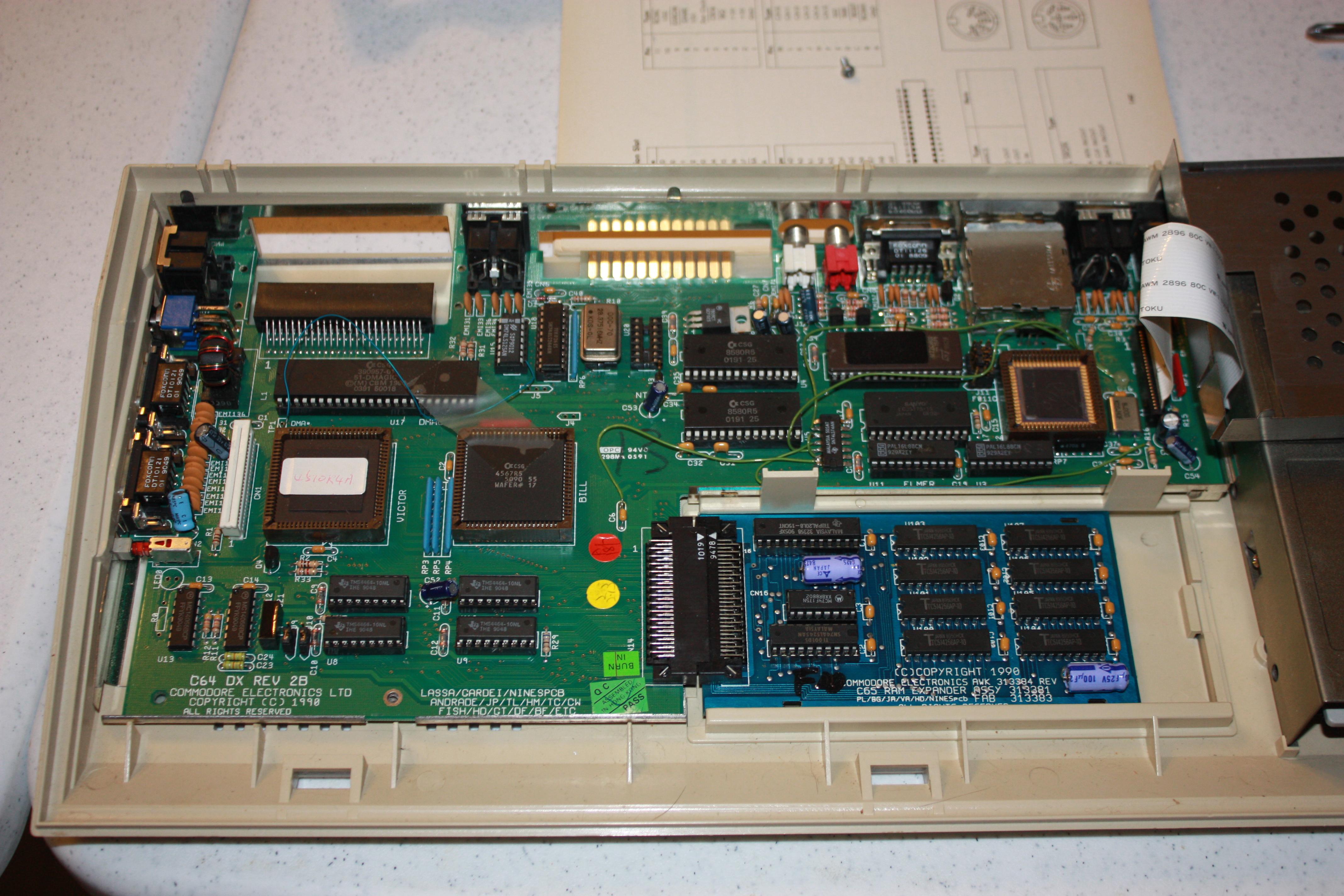 Commodore 65 Computer : The C64 Re-Born     Almost